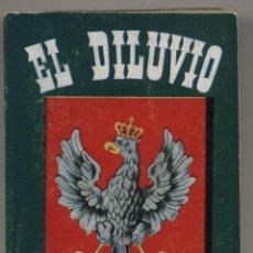 Libros de segunda mano: ENCICLOPEDIA PULGA Nº 23. EL DILUVIO POR ENRIK SIENKIEWICZ (384 PÁGINAS). Lote 19417163