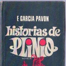 Libros de segunda mano: HISTORIAS DE PLINIO. F. GARCIA PAVON. ROTATIVA. 18 X 10,5 CM. 206 PAGINAS.. Lote 20448380