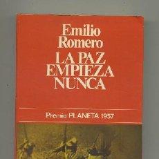 Libros de segunda mano: LA PAZ EMPIEZA NUNCA (A-NOV-343). Lote 20950799