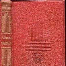 Libros de segunda mano: CRISOL 1 – DISRAELI – AÑO 1944 . Lote 27569656