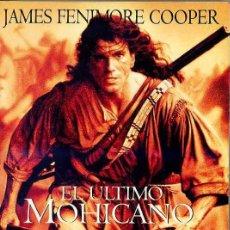 Libros de segunda mano: JAMES FENIMORE COOPER : EL ÚLTIMO MOHICANO. Lote 27419168