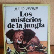 Libros de segunda mano: BRUGUERA LOS MISTERIOS DE LA JUNGLA DE JULIO VERNE COLECCION HISTORIAS INFANTIL Nº31. Lote 62455916
