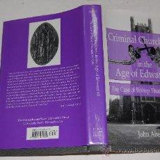 Libros de segunda mano: CRIMINAL CHURCHMEN IN THE AGE OF EDWARD III. THE CASE OF BISHOP TOMAS DE LISLE. JOHN ABERTH PX28277. Lote 29452897