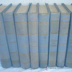 Libros de segunda mano: 8 NOVELAS ANTIGUAS. Lote 30402149