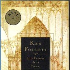 Libros de segunda mano: LOS PILARES DE LA TIERRA. KEN FOLLET. DEBOLSILLO 2003. LITERACOMIC.. Lote 30923940