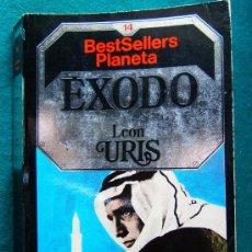 Libros de segunda mano: EXODO - LEON URIS LA GRAN AVENTURA HISTORICA DEL REGRESO DE LOS JUDIOS A SU PATRIA EN ISRAEL - 1984. Lote 275892848