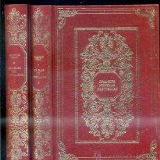 Libros de segunda mano: LESAGE : GIL BLAS DE SANTILLANA - DOS TOMOS (AMIGOS DE LA HISTORIA, 1973). Lote 31996101
