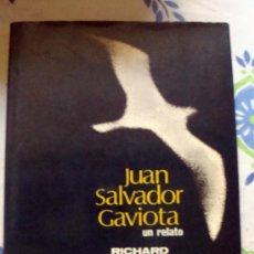 Libros de segunda mano: JUAN SALVADOR GAVIOTA-LIBRO DE RICHARD BACH. POMAIRE 1979-FOTOS DE RUSELL MANSON. Lote 32019598