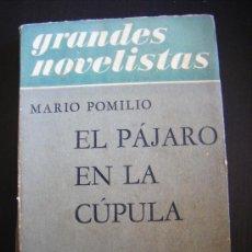 Libros de segunda mano: GRANDES NOVELISTAS, MARIO POMILIO, EL PÁJARO EN LA CÚPULA, EMECÉ EDITORES, BUENOS AIRES, 1956, 196 P. Lote 33008666