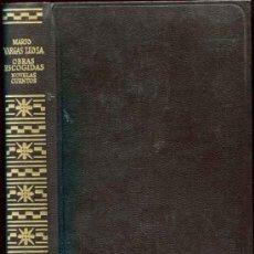 Libros de segunda mano: VARGAS LLOSA, MARIO: OBRAS ESCOGIDAS. Lote 33539249