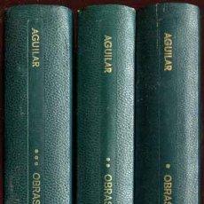 Libros de segunda mano: ASTURIAS, MIGUEL ÁNGEL: OBRAS COMPLETAS - AGUILAR -. Lote 33539330
