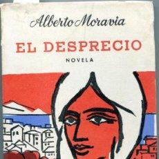 Libros de segunda mano: 1963: MORAVIA: EL DESPRECIO. Lote 34372690