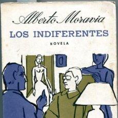 Libros de segunda mano: 1965: MORAVIA: LOS INDIFERENTES. Lote 34372710
