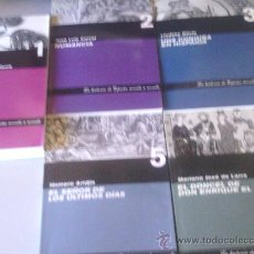 Libros de segunda mano: LOTE DE 6 LIBROS NOVELA HISTORICA. Lote 35412579