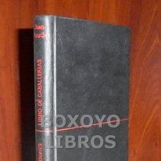 Libros de segunda mano: JUAN PERUCHO. LIBRO DE CABALLERÍAS. Lote 36056031
