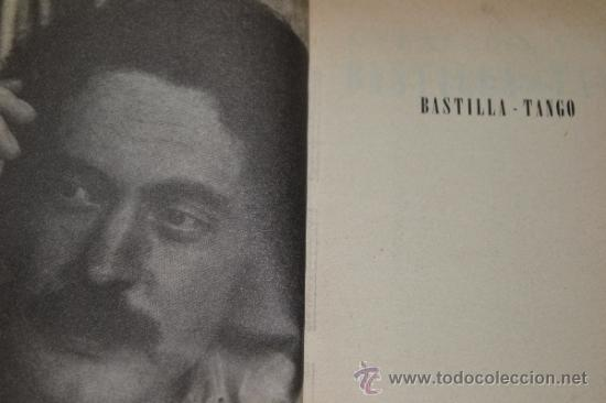 Libros de segunda mano: Bastilla-Tango de J. François Vilar-Editorial Etiqueta Negra. - Foto 4 - 36407370