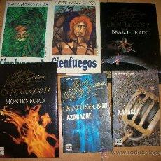 Libros de segunda mano: CIENFUEGOS - COMPLETA ( 6 LIBROS ) - ALBERTO VAZQUEZ FIGUEROA. Lote 37299281