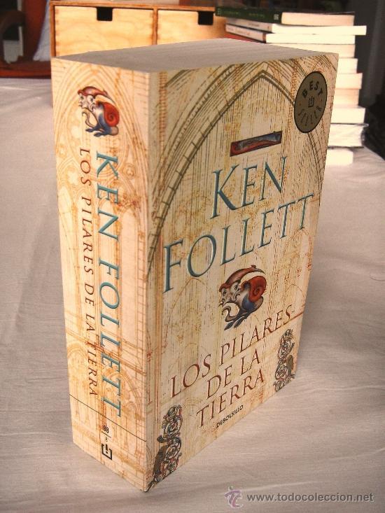 Libros de segunda mano: LOS PILARES DE LA TIERRA – KEN FOLLET. DEBOLSILLO. Edición bolsillo tapa blanda. - Foto 3 - 37459005