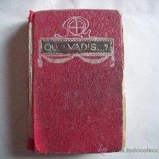 Libros de segunda mano: QUO VADIS.. Lote 37621739