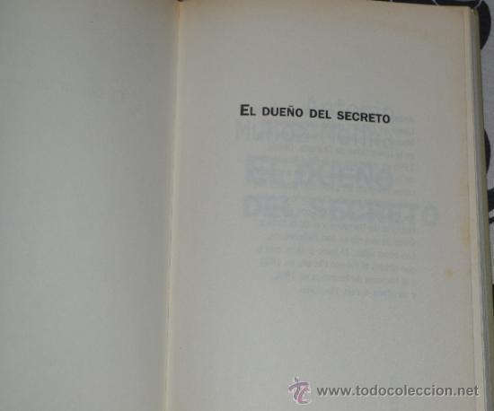 Libros de segunda mano: El dueño del secreto-Antonio Muñoz Molina-Narrativa de hoy-1997 - Foto 3 - 38475885