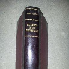 Libros de segunda mano - LA LEGIÓN DE LOS CONDENADOS. SVEN HASSEL - 38508740