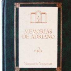 Libros de segunda mano: LIBRO MEMORIAS DE ADRIANO DE MARGUERITE YOURCENAR-1988-276 PAG-20,5X12,5 CM-EDICION LUJO TAPA DURA Y. Lote 39273396