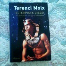 Libros de segunda mano: EL ARPISTA CIEGO, DE TERENCI MOIX (EDITORIAL PLANETA, CARTONE CON SOBRECUBIERTA). Lote 39350274