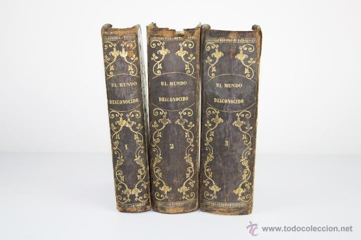 Libros de segunda mano: 5874- EL MUNDO DESCONOCIDO. ORTEGA Y FRIAS. EDIT. MURCIA Y MARTI. S/F. 3 TOMOS. - Foto 6 - 39472486