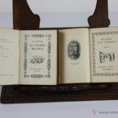 Libros de segunda mano: LP-038 - BIBLIOTECA SELECCION. VV.AA. EDIT. MONTANER Y SIMON. 4 TITULOS. VER DESCRIPCION. 1941/46.. Lote 39505719