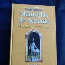 Libros de segunda mano: MEMORIAS DE ADRIANO, MARGUERITE YOURCENAR. Lote 40758523