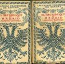 Libros de segunda mano: ALFONSO DANVILA : EL ARCHIDUQUE EN MADRID - DOS TOMOS (ESPASA CALPE, 1941) . Lote 42294466