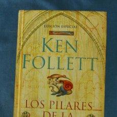 Livros em segunda mão: LOS PILARES DE LA TIERRA. KEN FOLLETT. DEBOLSILLO, ED. ESPECIAL (APÉNDICE 'LAS CATEDRALES'), 2008. Lote 81013328
