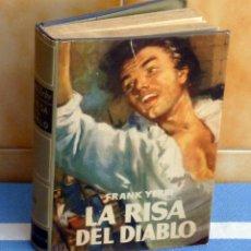 Libros de segunda mano: LA RISA DEL DIABLO.- POR FRANK YERBI. Lote 42890312