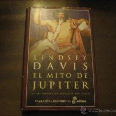 Libros de segunda mano: EL MITO DE JUPITER - LINDSEY DAVIS - MARCO DIDIO FALCO - EDHASA. Lote 42919288
