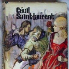 Libros de segunda mano: LUCRECIA BORGIA - CÉCIL SAINT-LAURENT - COL. NOVELISTAS DEL DÍA - PLAZA & JANES 1970. Lote 43457425