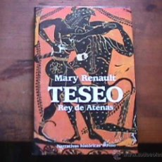 Livros em segunda mão: TESEO, REY DE ATENAS, MARY RENAULT, EDHASA, 1994. Lote 43485748