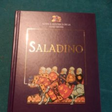 Libros de segunda mano: SALADINO (EL UNIFICADOR DEL ISLAM) POR GENEVIÈVE CHAUVEL - NOVELA HISTÓRICA DE LA EDAD MEDIA. Lote 44064817