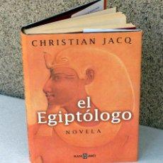Libros de segunda mano: EL EGIPTOLOGO.- CHRISTIAN JACQ.. Lote 44133296
