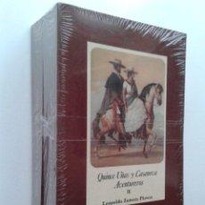 Libros de segunda mano: QUINCE UÑAS Y CASANOVA AVENTUREROS - LEOPOLDO ZAMORA PLOWES - OBRA COMPLETA EN DOS VOLUMENES. Lote 44163512