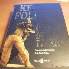 Libros de segunda mano: LOS PILARES DE LA TIERRA (KEN FOLLET) TAPA DURA 2001 (LB15). Lote 44836826