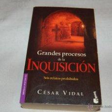 Libros de segunda mano: GRANDES PROCESOS DE LA INQUISICIÓN. Lote 46714517
