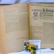 Libros de segunda mano: AÑO 1919-1939.- LA NOVELA DE LA LIBERTAD,SUPLEMENTOS DEL DIARIO -LA LIBERTAD- ENCUADERNADOS DE EPOCA. Lote 46726266