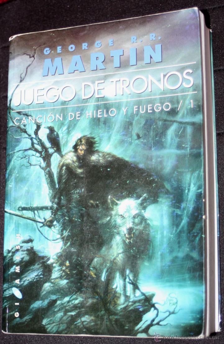 JUEGO DE TRONOS(GEORGE R.R. MARTIN),CANCIÓN DE HIELO Y FUEGO: LIBRO ...