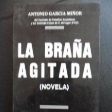 Libros de segunda mano: LA BRAÑA AGITADA. (NOVELA). ANTONIO GARCIA MIÑOR, DEL INSTITUTO DE ESTUDIOS ASTURIANOS Y DEL INSTITU. Lote 47138382