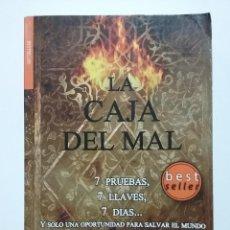 Libros de segunda mano: LA CAJA DEL MAL. 7 PRUEBAS, 7 LLAVES, 7 DIAS. Y SOLO UNA OPORTUNIDAD PARA SALVAR EL MUNDO - LANGFIEL. Lote 48621028