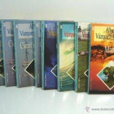 Libros de segunda mano: ¡¡OCASION¡¡ ALBERTO VAZQUEZ FIGUEROA -8X NOVELAS JET -PLAZA JANES- CIENFUEGOS SICARIO OCEANO PIRATAS. Lote 48768088