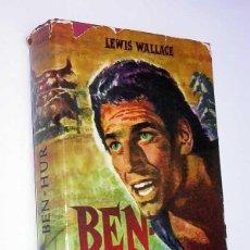 Libros de segunda mano: BEN HUR. LEWIS WALLACE. EDICIONES COMAR, 1960. PORTADA E ILUSTRACIONES DE PALET.. Lote 49246850