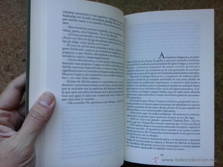 Libros de segunda mano: Viracocha (1988) / Alberto Vázquez-Figueroa. Círculo de Lectores. - Foto 3 - 49844318