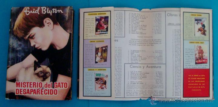 Libros de segunda mano: MISTERIO DEL GATO DESAPARECIDO, ENID BLYTON, EDITORIAL MOLINO, AÑO 1960, TAPA DURA - Foto 5 - 43151880