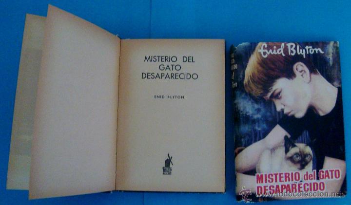 Libros de segunda mano: MISTERIO DEL GATO DESAPARECIDO, ENID BLYTON, EDITORIAL MOLINO, AÑO 1960, TAPA DURA - Foto 6 - 43151880